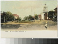 City Hall Square, Lewistown, Pennsylvania, 1901-1907