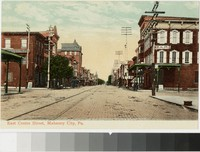 East Centre Street, Mahanoy City, Pennsylvania, 1901-1907