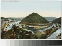Panorama of Mauch Chunk, Pennsylvania, 1907-1914