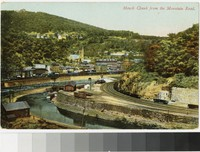 Mauch Chunk from the mountain road, Mauch Chunk, Pennsylvania, 1907-1914