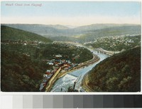 Mauch Chunk from Flagstaff, Pennsylvania, 1907-1914