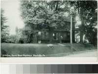 Gen. David Mead residence, Meadville, Pennsylvania, 1901-1907