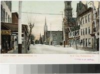 Main Street, Mechanicsburg, Pennsylvania, 1901-1907
