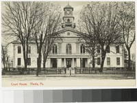 Court House, Media, Pennsylvania, 1907-1914