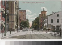 Ninth and Market Streets, Wilmington, Delaware, 1907-1914