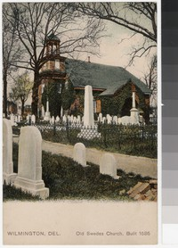 Old Swedes Church, Wilmington, Delaware, 1901-1907