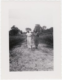Sue and Charles Collins, Fort Washington, Maryland, circa 1940