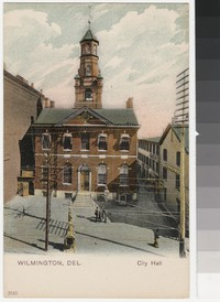 City Hall, Wilmington, Delaware, 1901-1907