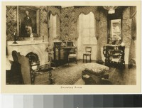 Drawing room at Friendship Hill, New Geneva, Pennsylvania, 1907-1914