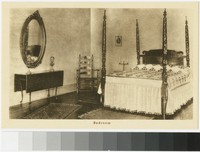 Bedroom at Friendship Hill, New Geneva, Pennsylvania, 1907-1914