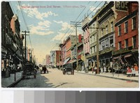 Market Street from 2nd Street, Wilmington, Delaware, 1907-1914