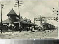 P. & R. station, Norristown, Pennsylvania, 1907-1908