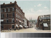 Center Street, Oil City, Pennsylvania, 1907-1914