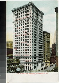 Land Title building, Philadelphia, Pennsylvania, 1901-1907