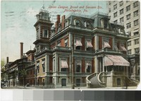 Union League, Broad and Sansom Streets, Philadelphia, Pennsylvania, 1907-1908