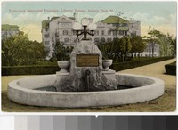 Tenbroeck Memorial Fountain, Asbury Park, New Jersey, 1907-1914