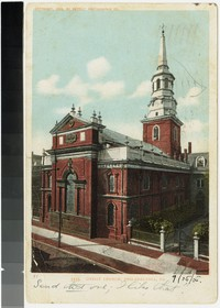 Christ Church, Philadelphia, Pennsylvania, 1901-1905