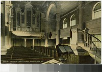 Interior Christ Church, Philadelphia, Pennsylvania, 1907-1914