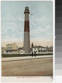 Absecon Light House, Atlantic City, New Jersey, 1901-1907