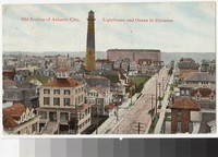 Old section of Atlantic City, Atlantic City, New Jersey, 1907-1909