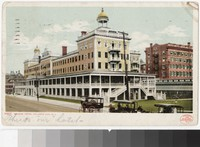 Seaside Hotel, Atlantic City, New Jersey, 1907-1909