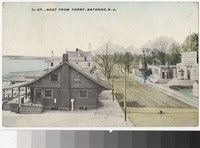 First Street, west from ferry, Bayonne, New Jersey, 1907-1910