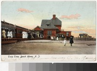 Train station, Beach Haven, New Jersey, 1901-1906