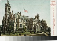 College Hall, University of Pennsylvania, Philadelphia, Pennsylvania, 1901-1907