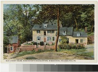 Old Livezey House, Washington's Headquarters, Wissahickon, Philadelphia, Pennsylvania, 1915
