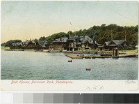 Boat houses, Fairmount Park, Philadelphia, Pennsylvania, 1901-1906