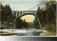 Walnut Lane Bridge, Fairmount Park, Philadelphia, Pennsylvania, 1908-1910