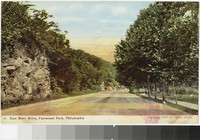 East River Drive, Fairmount Park, Philadelphia, Pennsylvania, 1907-1914