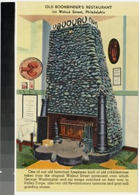 Old Bookbinder's Restaurant, 125 Walnut Street, Philadelphia, Pennsylvania, 1930-1945