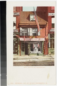 Betsy Ross House, Philadelphia, Pennsylvania, 1901-1907