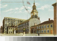 Independence Hall, Philadelphia, Pennsylvania, 1907-1908
