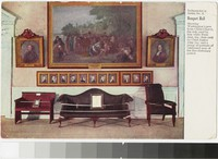 Artifacts in Banquet Hall, Independence Hall, Philadelphia, Pennsylvania, 1907-1909