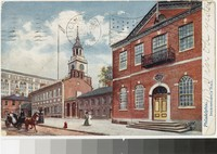 Independence Hall, Philadelphia, Pennsylvania, 1901-1907