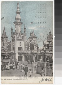 Luna Park, Coney Island, New York, New York, 1901-1907