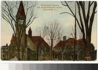 Westminster Church and Jarvie Memorial Library, Bloomfield, New Jersey, 1907-1914