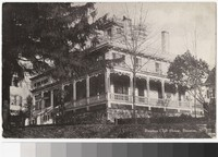 Boonton Club House, Boonton, New Jersey, 1907-1914