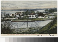 Croswicks Creek Canal and the Delaware River, Bordentown, New Jersey, 1907