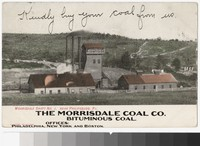 Morrisdale Coal Company shaft, near Philipsburg, Pennsylvania, 1901-1907