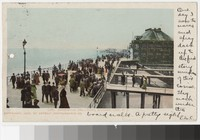 Boardwalk and casino, Atlantic City, New Jersey, 1901-1904