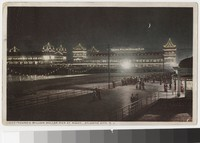 Young's Million Dollar Pier at night, Atlantic City, New Jersey, 1907-1911