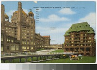 Hotels Marlborough-Blenheim, Atlantic City, New Jersey, 1930-1945