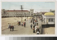 Boardwalk and Young's Million Dollar Pier, Atlantic City, New Jersey, 1907-1911