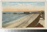 Young's Million Dollar Pier and the boardwalk, Atlantic City, New Jersey, 1915-1917
