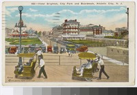 Hotel Brighton, City Park and boardwalk, Atlantic City, New Jersey, 1915-1928