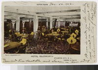 Dutch room, Hotel Islesworth, Atlantic City, New Jersey, 1901-1906