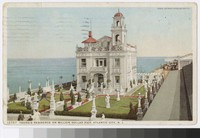 Young's residence on Million Dollar Pier, Atlantic City, New Jersey, 1907-1911